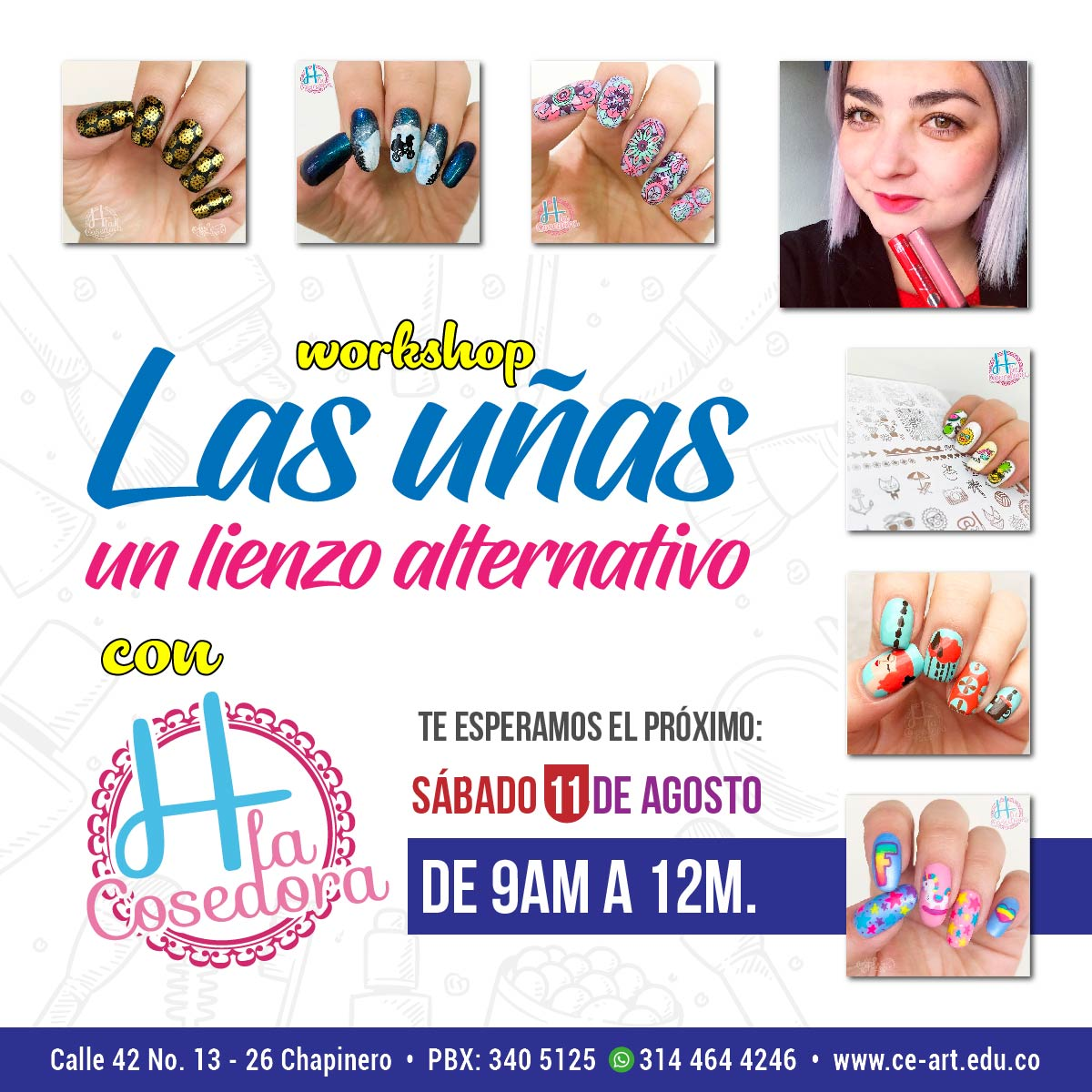 Las uñas: Un lienzo alternativo